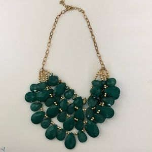 Francesca's statement necklace in turquoise